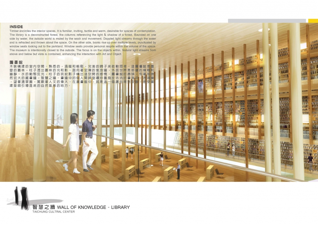 Taichung City Cultural Center Competition Entry